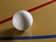 Чиновники играли в волейбол