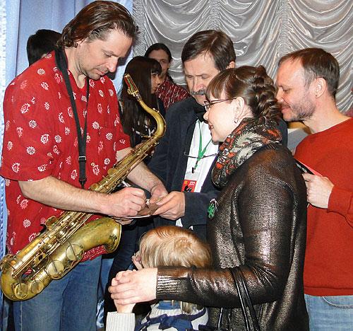 Данилов слушал мировой джаз