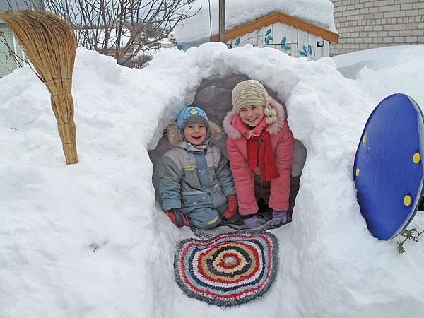 Снежная капсула