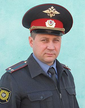 В полиции новое лицо