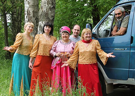 Любит деревню «Россияночка»